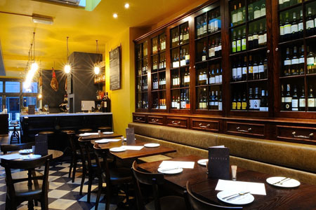 Barrica Taps Restaurant Review - Goodge Street