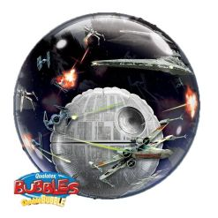 "Death Star 24"" Double Bubble Balloon"