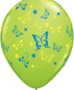 "10 Butterfly Helium Filled 11""latex Party Party Balloons"