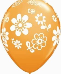 "10 contempo daisies  Helium Filled 11""latex Party Party Balloons"
