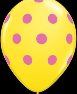"10 Polka Dots Helium Filled 11""latex Party Party Balloons"