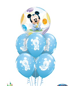 Blue Baby Mickey at London Helium Balloons