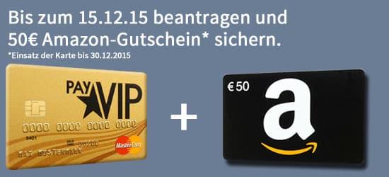 payvip 50€ amazon