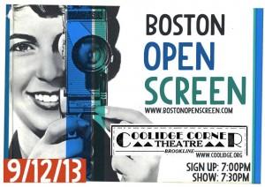 boston Open Screen