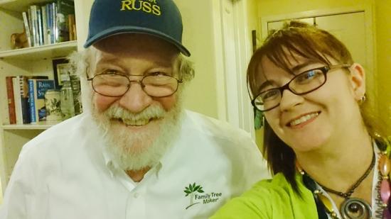 selfie with Cousin Russ