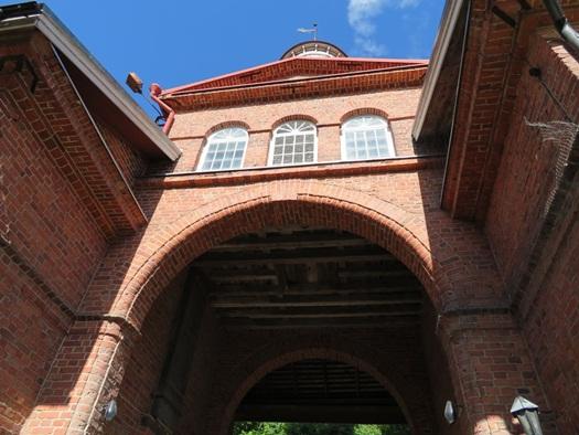 old building at Fiskars