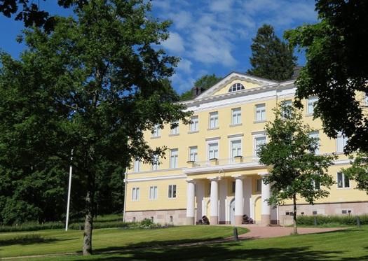 the Manor House at Fiskars, Finland
