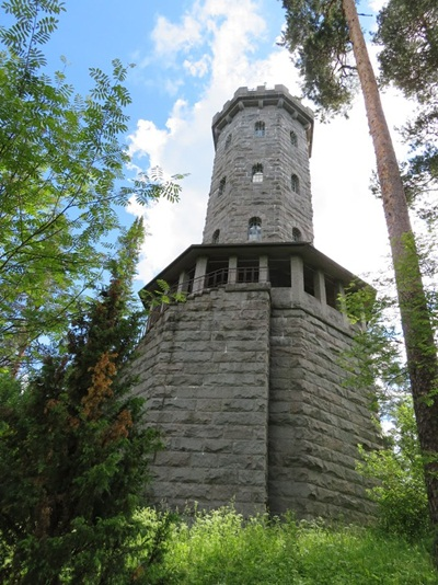the tower at Aulanko Park Forest