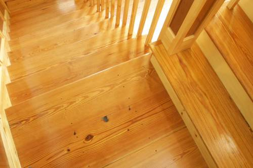 Medium Of Pine Stair Treads