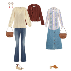 How to wear the seventies trend