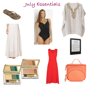 capsule wardrobe essentials for july