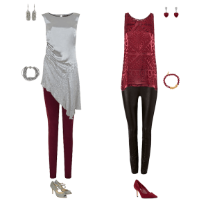What to wear to Christmas parties, how to wear jeans to a party,