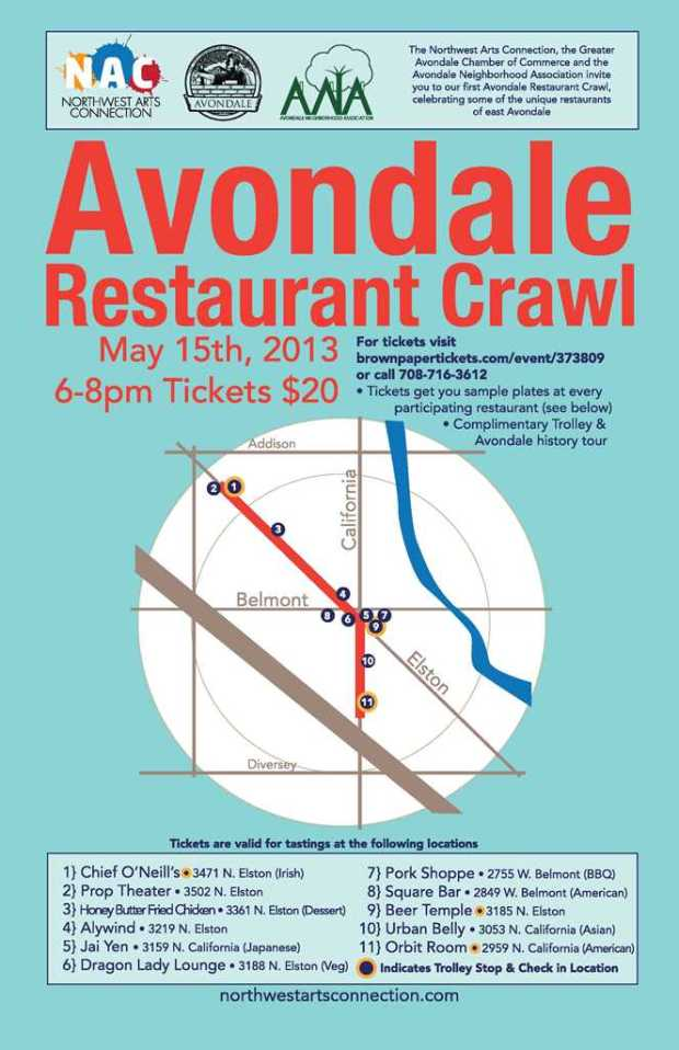 avondalerestaurantcrawl