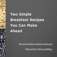 Two Simple Breakfast Recipes You Can