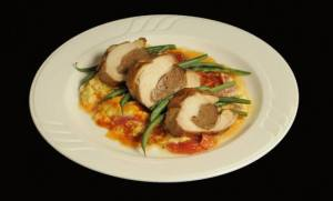 LittleBucharestBistro Award Winning Sausage-Stuffed Chicken Thigh