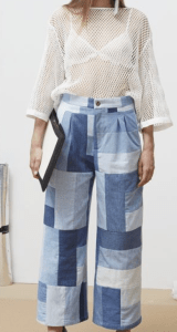Patchwork jeans Rodebjer