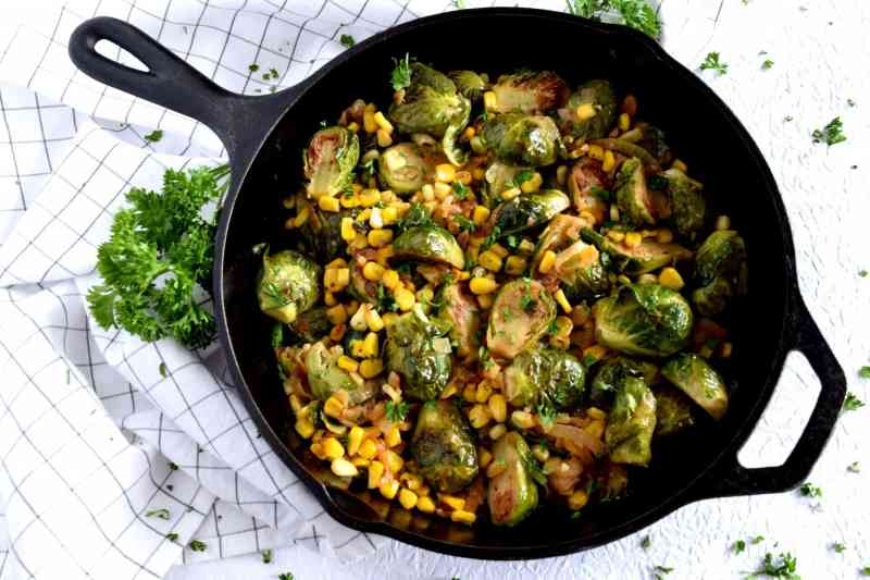 Large Of Deep Fried Brussel Sprouts