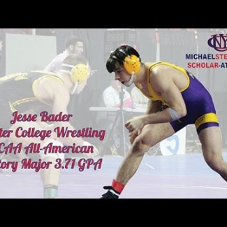 Jesse Bader 2015 Scholar-Athlete of the Year