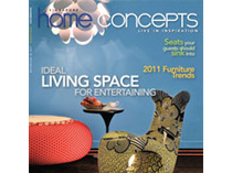 Celebrity Los Angeles Interior Designer Lori Dennis Singapore Home Concepts Magazine Winter, 2010