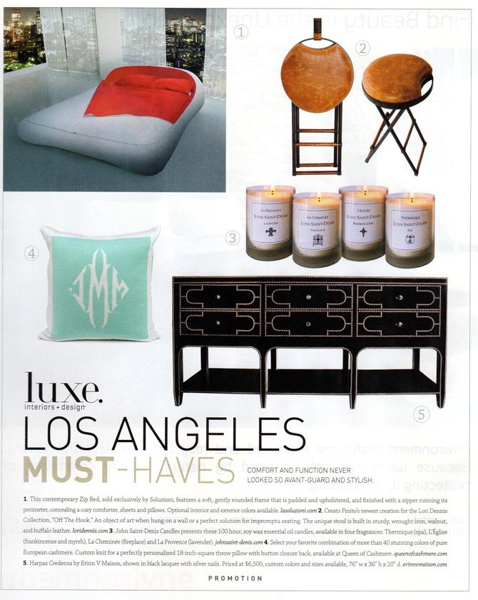 Luxe Magazine November 2011