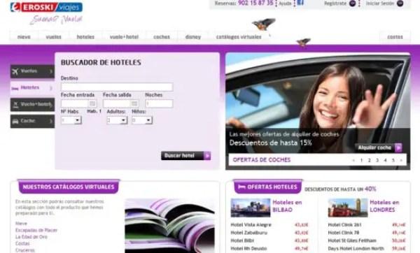 eroski-viajes - mejor agencia de viajes online