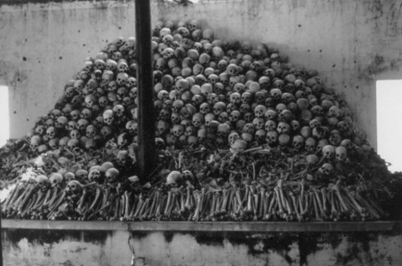 Skulls at Sang Prison