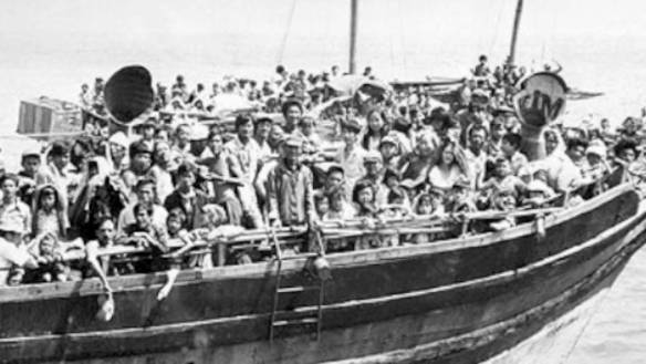 In the 80's, a Second Wave of Desparate Refugees Living Under Communism Used Rickety Vessels to Escape Vietnam.