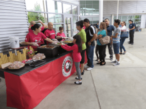 Panda Cares donated nearly 300 lunches for an end-of-school-year celebration attended by 200 College Bound Today juniors in the Montebello Unified School District, as well as their adult mentors and parents, on June 11.