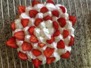 mrengue y fresas