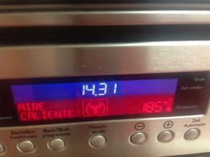 temperatura horno
