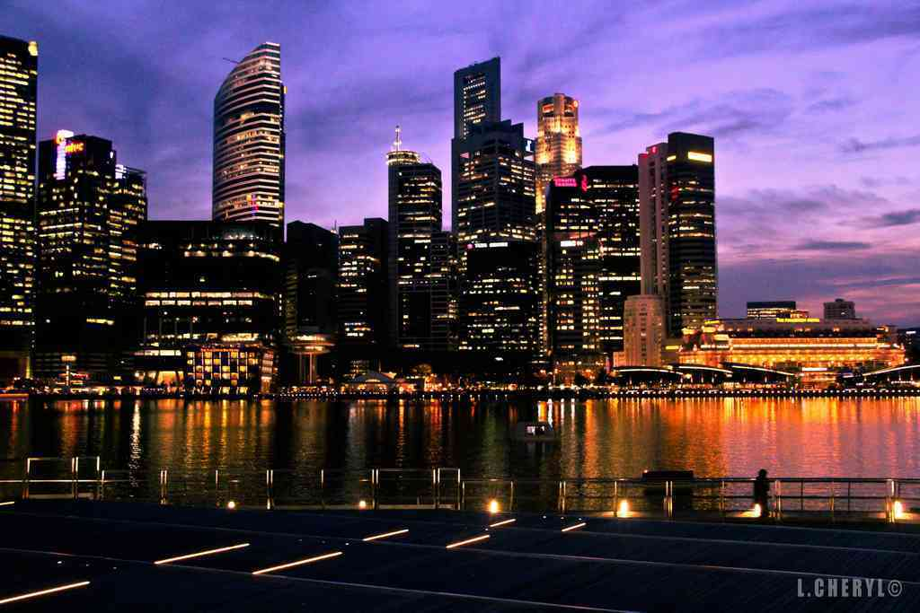 Singapore nights - Photo by Cheryl via Flickr/CC BY 4.0