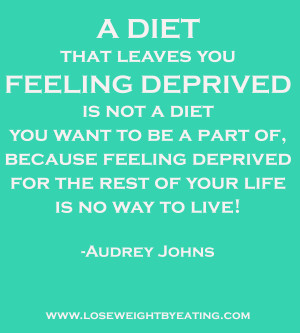 Lose Weight By Eating Audrey Johns