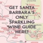 Santa Barbara Sparkling Wine Map