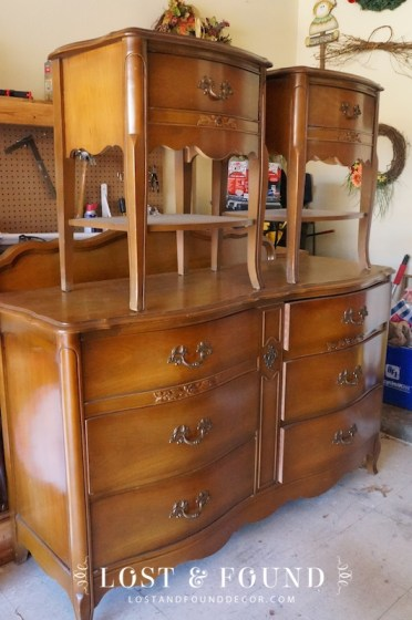 French Provincial Bedroom Set Reveal Lost Amp Found