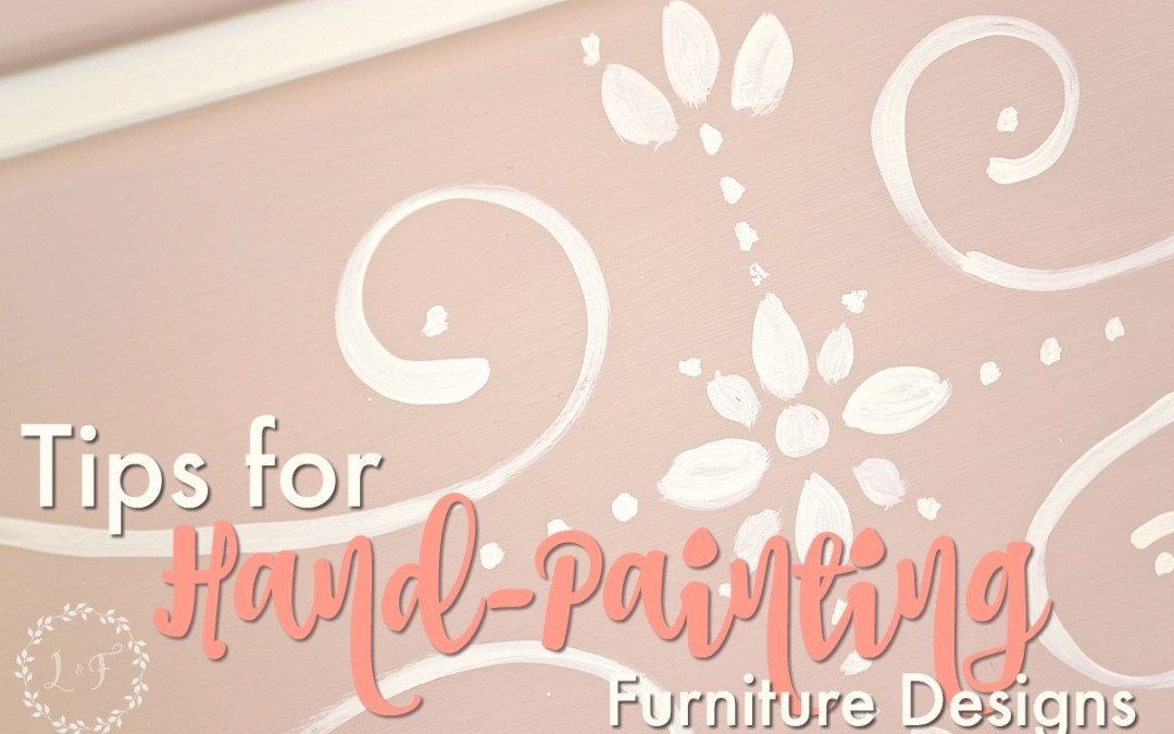 Tips for Hand-Painting Designs on Furniture