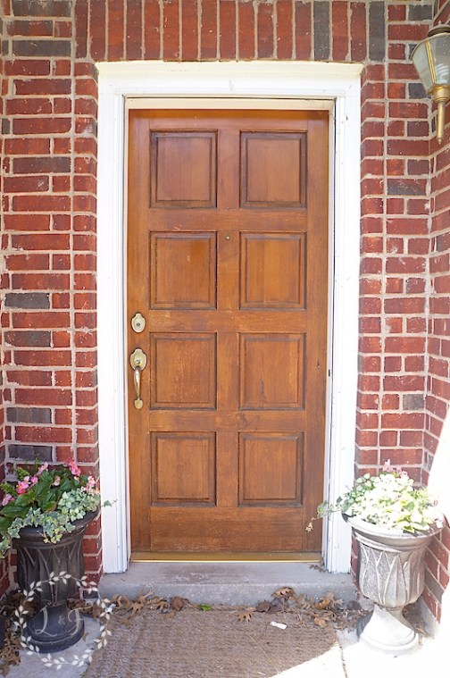 Front Door Refresh With Fusion Mineral Paint And A Giveaway Lost Found
