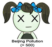 Beijing AQI Girl