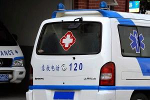 Chinese ambulance