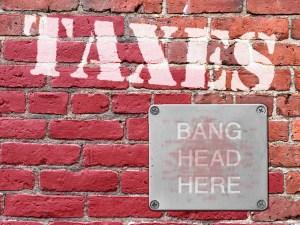Taxes - Bang-Head Here