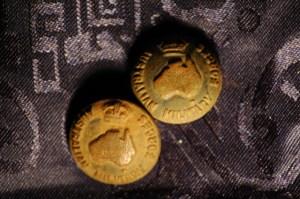 WW2 Australian Brass Army Buttons