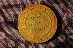 1928 Australian Half Penny