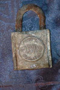 Old Australian Lockwood Padlock