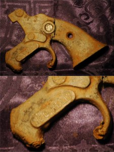 Old Ned Kelly Toy Gun Remains