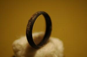 The Silver Ring Found in Salt Lake - Major Tarnish - Nil Corrosion