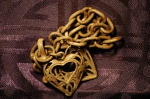 Silver Love Hearts Charm Bracelet