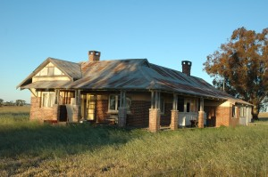Old Brick Australian Homestead