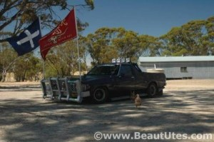 My Old 308 5 Litre V8 HZ Holden BNS Ute