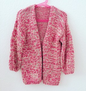 Strickjacke, Mädchen, Bernadette Cardigan, Sommer, We are Knitters
