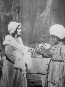 The Marschallin hands her servant the silver rose