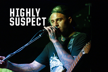 Highly Suspect – The Boardwalk 10/01/16